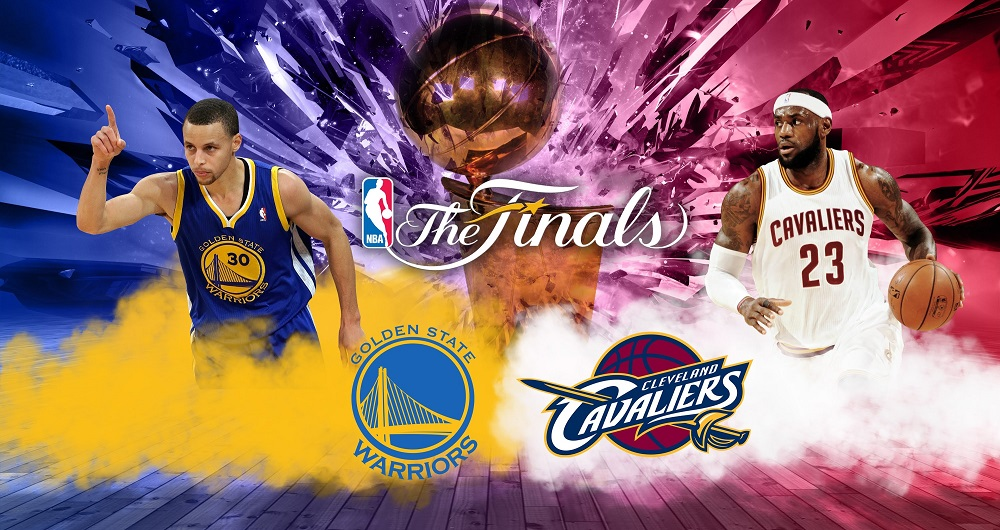 2016 NBA Finals Cavaliers-Warriors