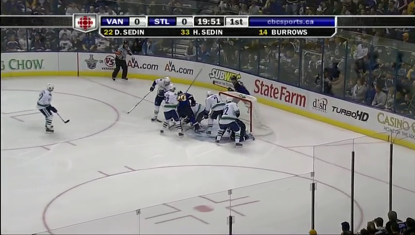 NHL 08/09, Кубок Стэнли, 1/8 финала,  Vancouver Canucks - St. Louis Blues. ВСЕ МАТЧИ.HDTV