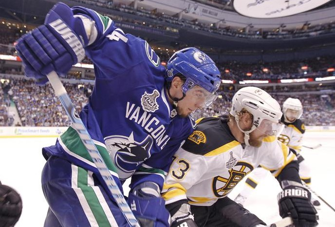НХЛ. Плей-офф. Финал 2011. Ванкувер-Бостон. Vancouver Canucks-Boston Bruins. AVI