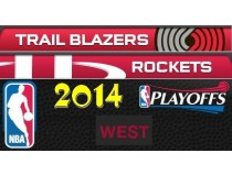 NBA Playoffs 2014. West. Первый раунд. Хьюстон Рокитс - Портленд Трэйл Блэйзерс