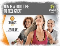 Zumba Gold. Live It Up. DVD