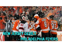 New Jersey Devils-Philadelphia Flyers. 1/4 финала НХЛ плей-офф 2012 / NHL Stanley cup playoffs 2012