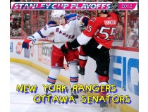 NEW YORK RANGERS-OTTAWA SENATORS. 1/8 финала НХЛ плей-офф 2012 / NHL Stanley cup playoffs 2012