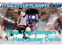 New York Rangers-New Jersey Devils. 1/2 финала НХЛ плей-офф 2012 / NHL Stanley cup playoffs 2012