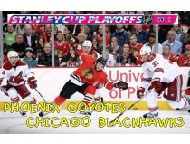 PHOENIX COYOTES-CHICAGO BLACKHAWKS. 1/8 финала НХЛ плей-офф 2012 / NHL Stanley cup playoffs 2012