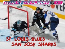 ST LOUIS BLUES-SAN JOSE SHARKS. 1/8 финала НХЛ плей-офф 2012 / NHL Stanley cup playoffs 2012