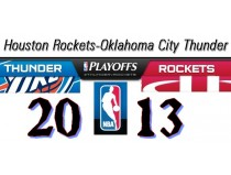 NBA Playoffs 2013. West. Первый раунд. Houston Rockets-Oklahoma City Thunder
