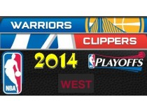 NBA Playoffs 2014. West. Первый раунд. Лос-Анджелес Клипперс - Голден Стэйт Уорриорз