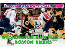 WASHINGTON CAPITALS-BOSTON BRUINS. 1/8 финала НХЛ плей-офф 2012 / NHL Stanley cup playoffs 2012